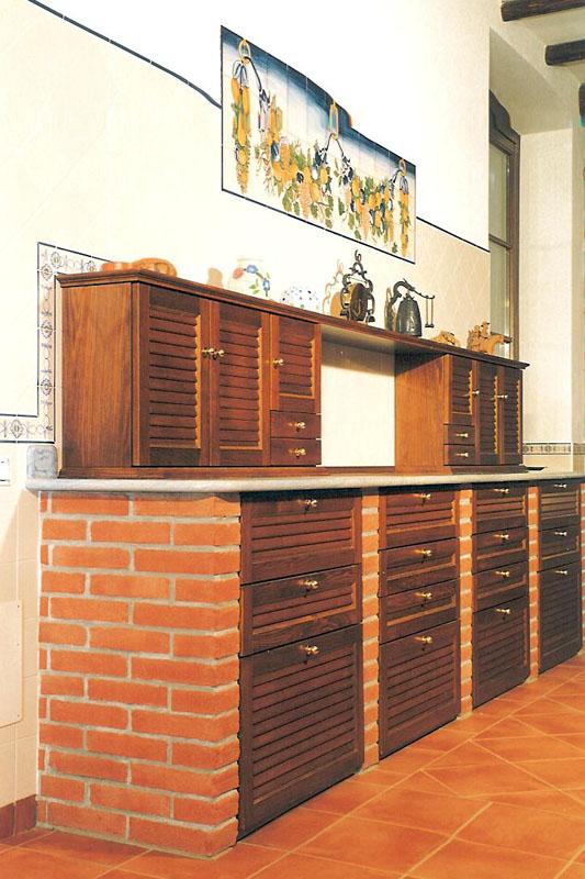 Cucina Rossella Falegnameria Cortinovis Bergamo